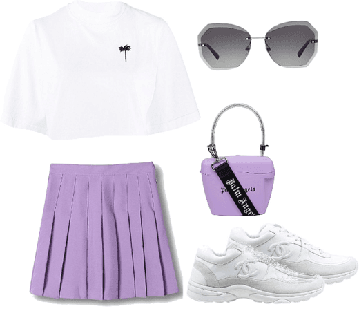 chanel x palm angels lilac vibes