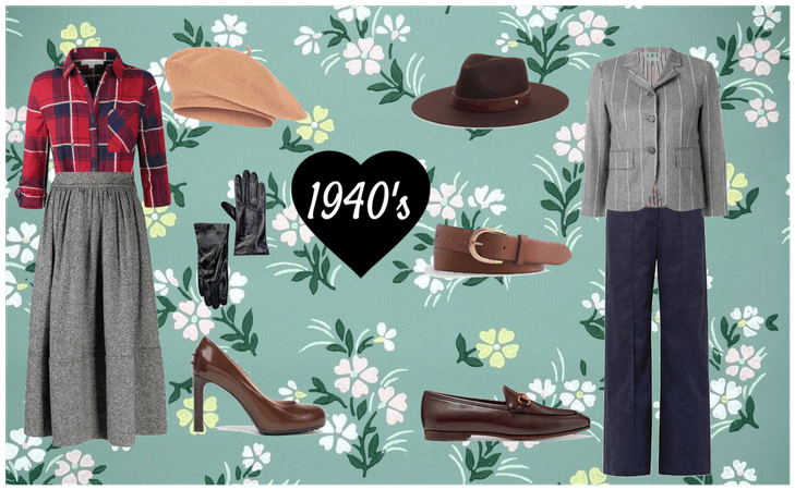 1940's Men and Women outfits