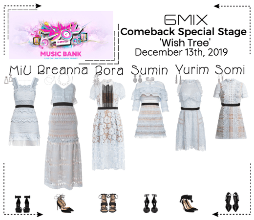 《6mix》Music Bank Special Stage 'Wish Tree'