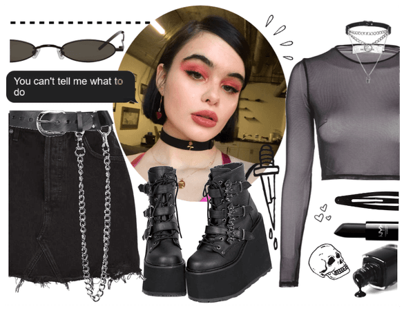 Kat inspired outfit