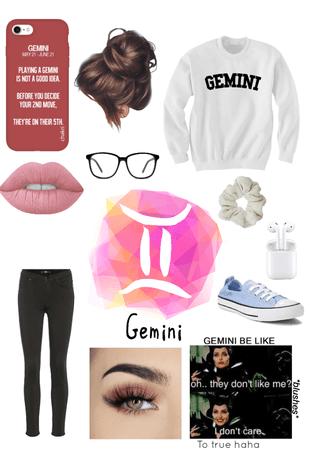 I'm a gemini lol 😆