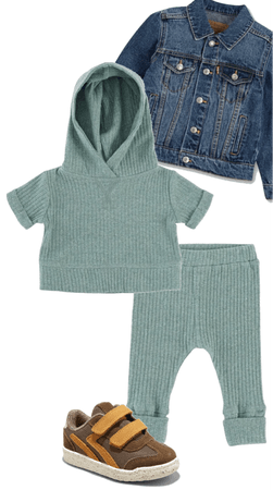 Comfy Ribbed Outfit
