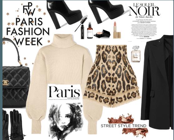 Paris Fashion Week : Street Style