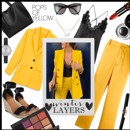 A Yellow and Black Winter