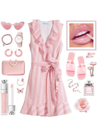 Soft and Flirty Pink Lipstick