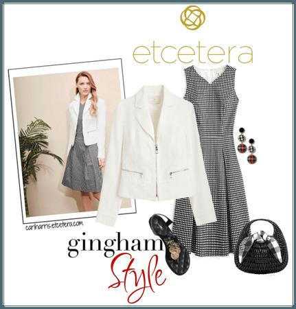 ETC Summer 2020: Zipped Jacket with Gingham Dress