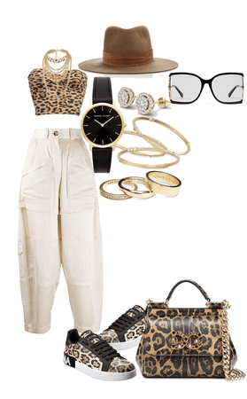 glam and urban mix