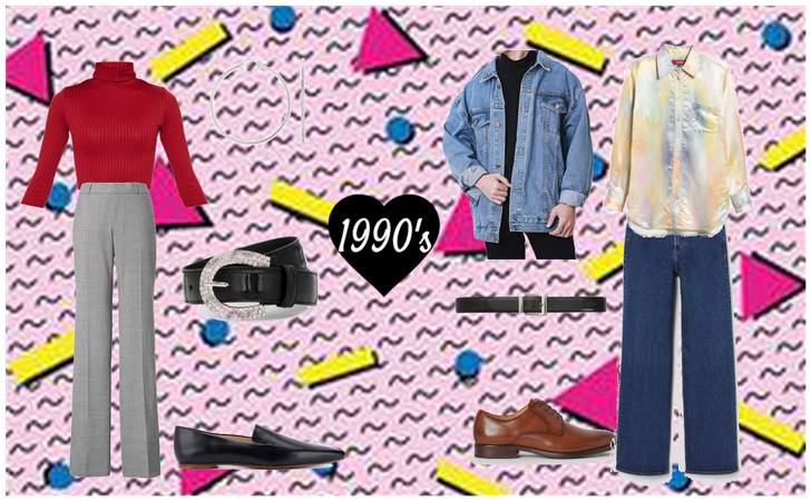 1990's Men and Women Outfits