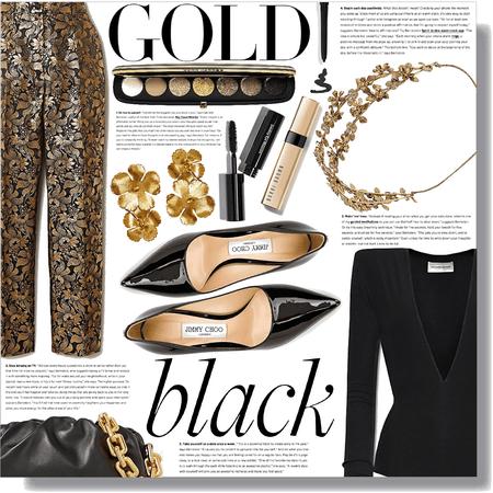 gold & black beauty