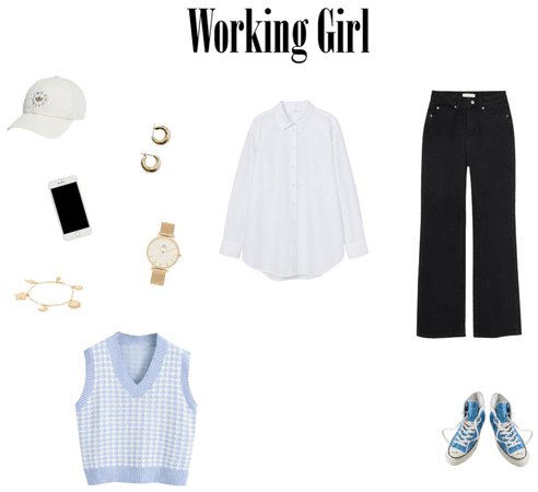 Working Outfits Baby Blue