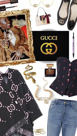 Designer Threads- Gucci