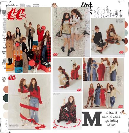 MARIONETTE (마리오네트) CanCam Magazine Photoshoot