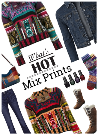 Whats Hot?  Mixed Prints