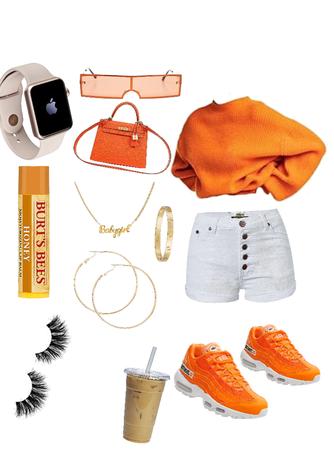 all Orange so cute 💞💯