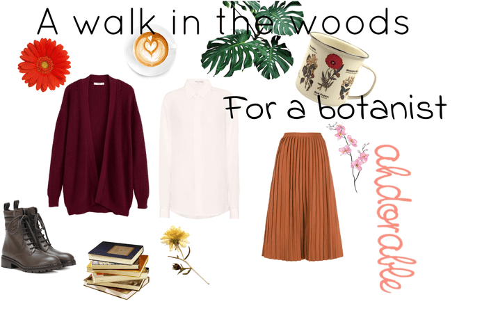 a walk in the woods for a botanist