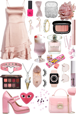 Pink girl/ Barby
