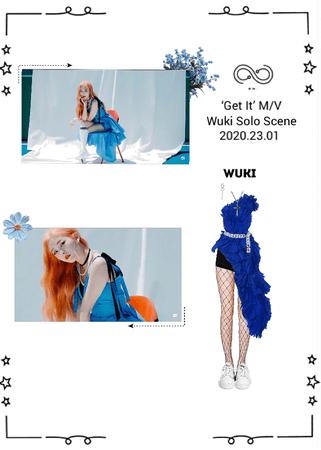 INFINITY (무한대) - 'Get It' MV - Wuki Solo Scene