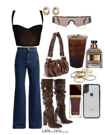 Dark Brown Outfit