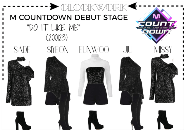 "*CWK* ""DO IT LIKE ME"" M COUNTDOWN STAGE"