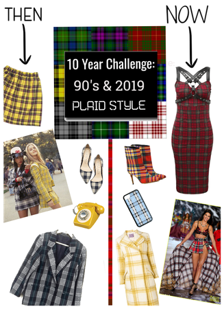 10yr Challenege/Plaid Then & Now