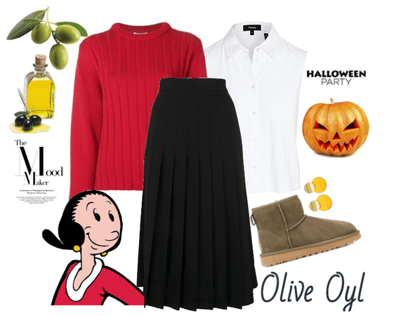 Inspired by Olive Oyl