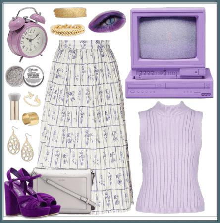 Lavender + Gold
