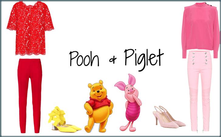 Pooh and Piglet Halloween Idea