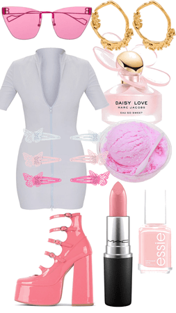 marshmallow and pink