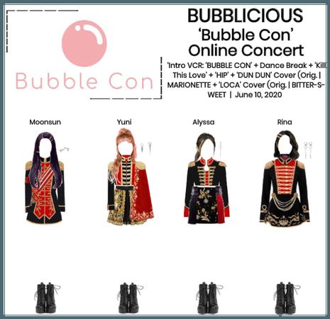 BUBBLICIOUS (신기한) BUBBLE CON: Live Online Concert