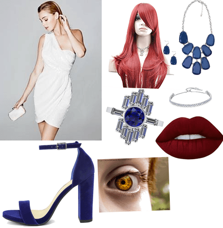 Mystique goes to Marvel prom
