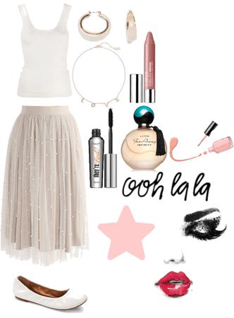 Ballerina Girl Outfit