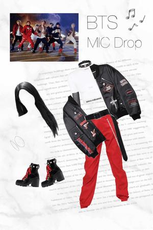 BTS 8th Member Lani mic drop mv outfit #1