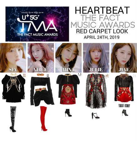 [HEARTBEAT] THE FACT MUSIC AWARDS RED CARPET LOOK