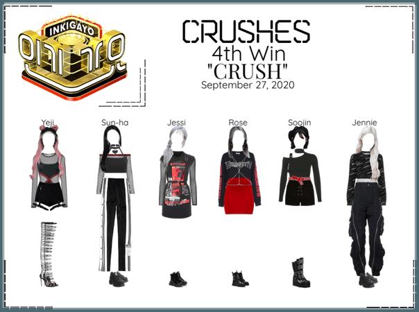 """Crushes (호감) """"CRUSH"""" 4th Win"""