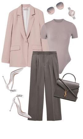 Go to work PINK & GREY