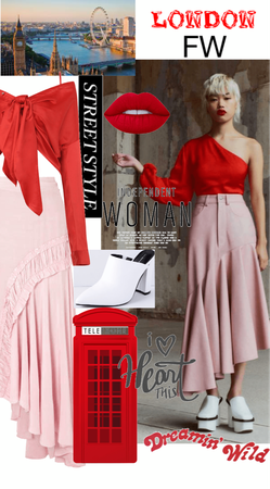 Red & Pink Street Style