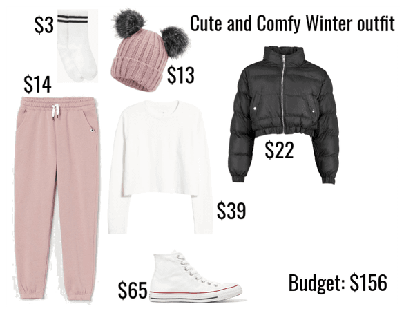 Cute and Comfy Winter Outfit