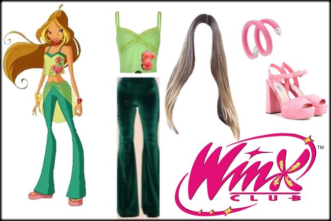 Flora Bratz Character Outfit 💚