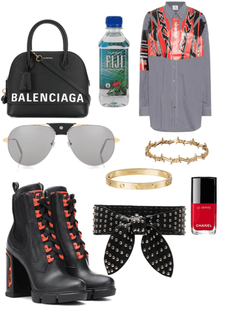 street walk outfit
