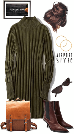 Fly Home for Thanksgiving: Airport Style