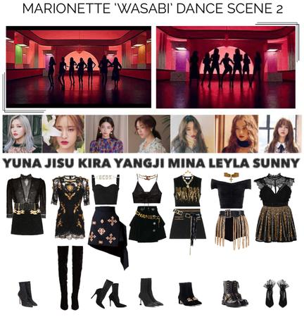 {MARIONETTE} 'Wasabi' M/V Second Dance Scene