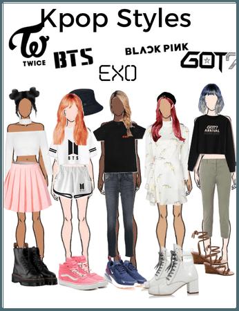 Kpop styles