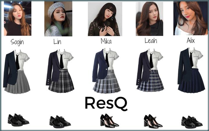 ResQ uniforms