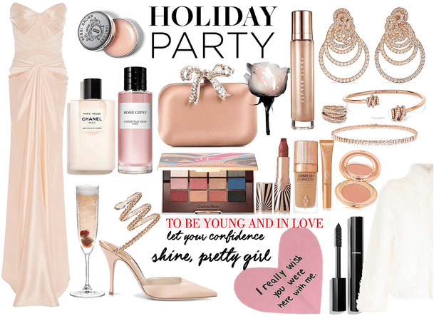 Holiday Party: pretty girl