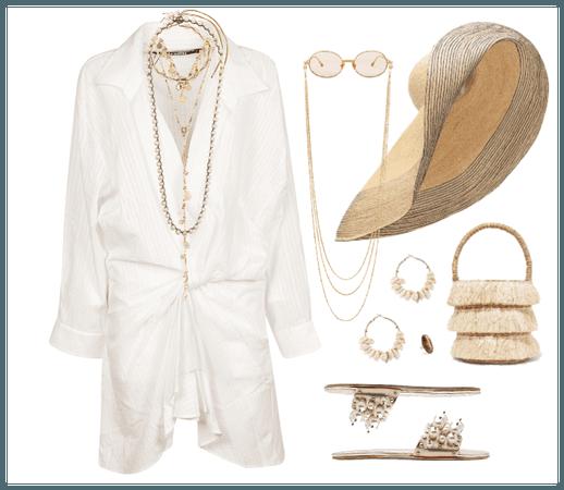 white in summer