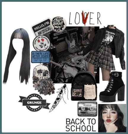 Grunge Schoolgirl