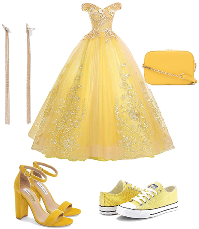 the yellow outfit