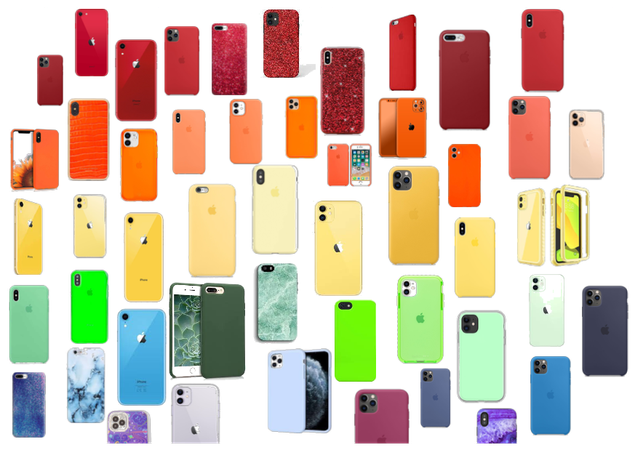 A Rainbow of Cases