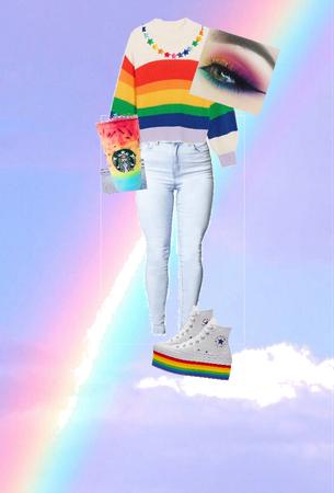 over the rainbow~
