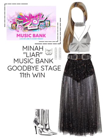 "Minah - ""LIAR"" Music Bank & 11th Win"